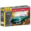Heller 80719 Jaguar Type E 3L8 OTS Cabriolet