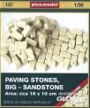 plusmodel 137 Pflastersteine, groß - Sandsteine