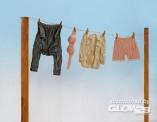 plusmodel EL018 Kleidung - Wäscheleine