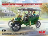 ICM 24025 Model T 1911 Touring with Motorists
