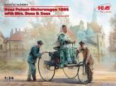 ICM 24041 Benz Patent-Motorwagen 1886 mit Figuren
