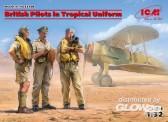 ICM 32106 British Pilots in Tropical Uniform