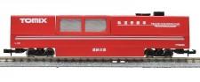 Tomytec 976427 Schienenreinigungswagen rot
