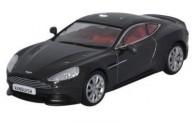 Oxford 43AMV003 Aston Martin Vanquish Coupe Quantum Silv