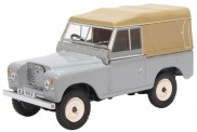 Oxford 43LR3S003 Land Rover Series III SWB Canvas grau
