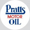 Oxford 76ACC008 Palette mit 4 Pratts Motor Oil