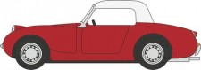 Oxford 76AHF001 Austin Healey Frogeye Sprite Cherry Red