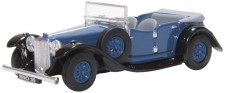 Oxford 76ALV005 Alvis Speed Twenty Royal Blue