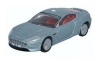 Oxford 76AMDB9001 Aston Martin DB9 Coupe silbermetallic