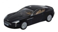 Oxford 76AMDB9002 Aston Martin DB9 Coupe Onyx schwarz