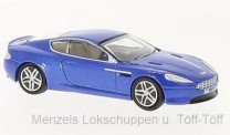 Oxford 76AMDB9003 Aston Martin DB9 Coupe Cobalt blau