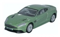 Oxford 76AMV001 Aston Martin Vanquish Coupe grün