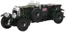 Oxford 76BB003 Bentley Blower British Racing Green