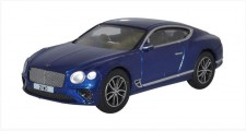 Oxford 76BCGT001 Bentley Continental GT Peacock Blue