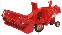 Oxford 76CHV001 Combine Harvester Red