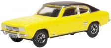 Oxford 76CP001 Ford Capri Mk1 Maize Yellow