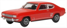 Oxford 76CP002 Ford Capri Mk1 Sunset Red