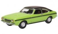 Oxford 76CPR001 Ford Capri MK II Lime Green