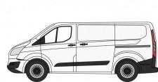 Oxford 76CUS002 Ford Transit 2020 Custom weiß