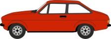 Oxford 76ESC001 Ford Escort Mk2 Tango