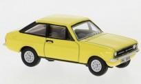 Oxford 76ESC002 Signal Yellow Ford Escort Mk2