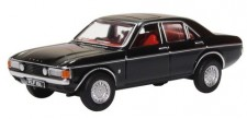 Oxford 76FC006 Ford Consul Granada Black