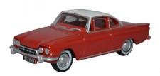 Oxford 76FCC003 Ford Consul Capri Monaco Red and White