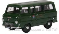 Oxford 76FDE016 Ford 400e Minibus London Fire