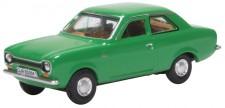 Oxford 76FE001 Ford Escort Mk1 Modena Green