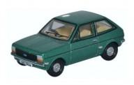 Oxford 76FF005 Ford Fiesta Mk.I grün