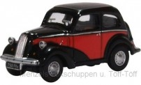 Oxford 76FP006 Ford Popular Red/Black
