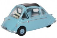 Oxford 76HE001 Heinkel Trojan Roman Blue