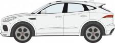 Oxford 76JEP002 Jaguar E space weiß 2020
