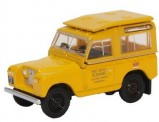 Oxford 76LR2S004 Land Rover Series II SWB gelb Post Off.