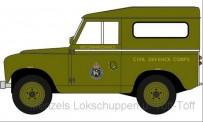 Oxford 76LR2S005 Land Rover Series II SWB Hardback Civil