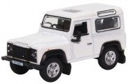 Oxford 76LRDF012 Land Rover Defender 90 Station Wagon Whi
