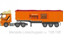 Oxford 76MB008 MB Actros SS Mulden-Kipp-SZ Ronnie Evans