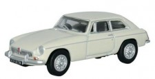 Oxford 76MGBGT003 MG B GT weiß