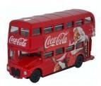 Oxford 76RM114CC Routemaster Bus Coca Cola Xmas