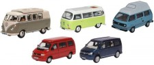 Oxford 76SET67 VW Camper Set T1/T2/T3/T4/T5