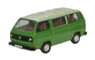 Oxford 76T25005 VW T3a Bus dunkelgrün/hellgrün
