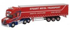 Oxford 76TCAB010 Scania T Hauber GP-SZ Stuart Nicol