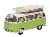 Oxford 76VW028 VW T2a Campingbus mit Surfboards