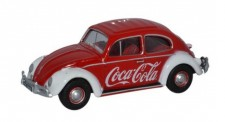 Oxford 76VWB009CC VW Beetle Coca Cola