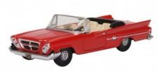 Oxford 87CC61001 Chrysler 300 Convertible Mardi Gras Red