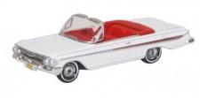 Oxford 87CI61003 Chevrolet Impala weiß/rot