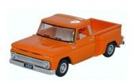 Oxford 87CP65002 Chevrolet Stepside Pick Up 1965 orange