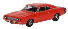 Oxford 87DC68001 Dodge Charger 1968 Bright Red