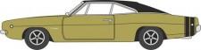 Oxford 87DC68002 Dodge Charger 1968 Gold/Black