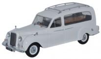 Oxford APH002 Austin Sheerline 125 hearse white